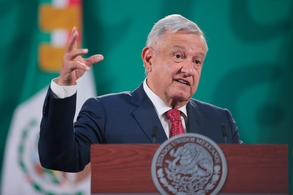Mexico's President Says Joe Biden Responsible for Migrant Crisis at the Border