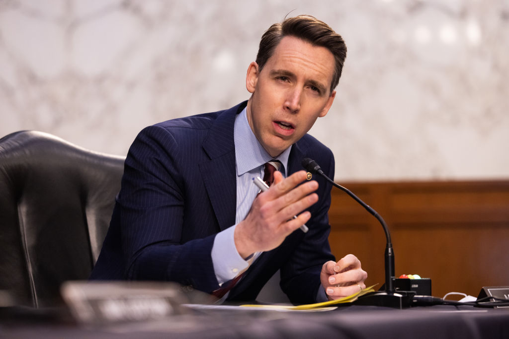 Sen. Hawley Makes Case for Breaking Up Big Tech