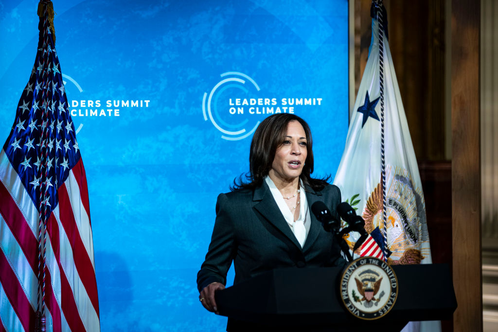 """Kamala Harris Claims """"Extreme Climate"""" One of the """"Root Causes"""" of the Crisis at the Border"""