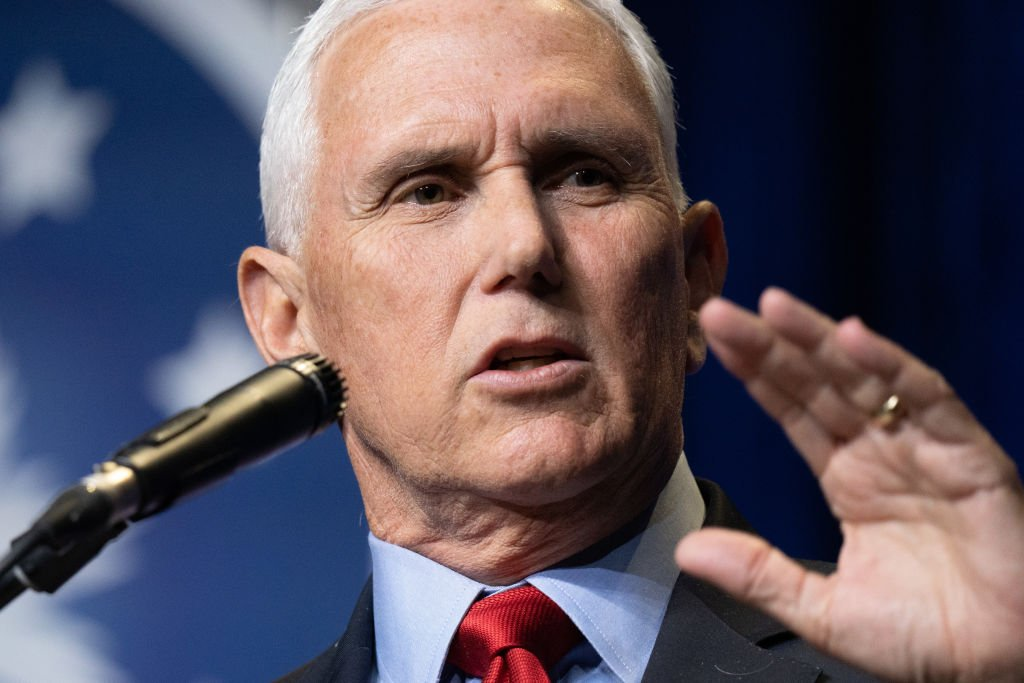 Mike Pence Says Biden's Weakness Caused Recent Israel-Palestine Violence