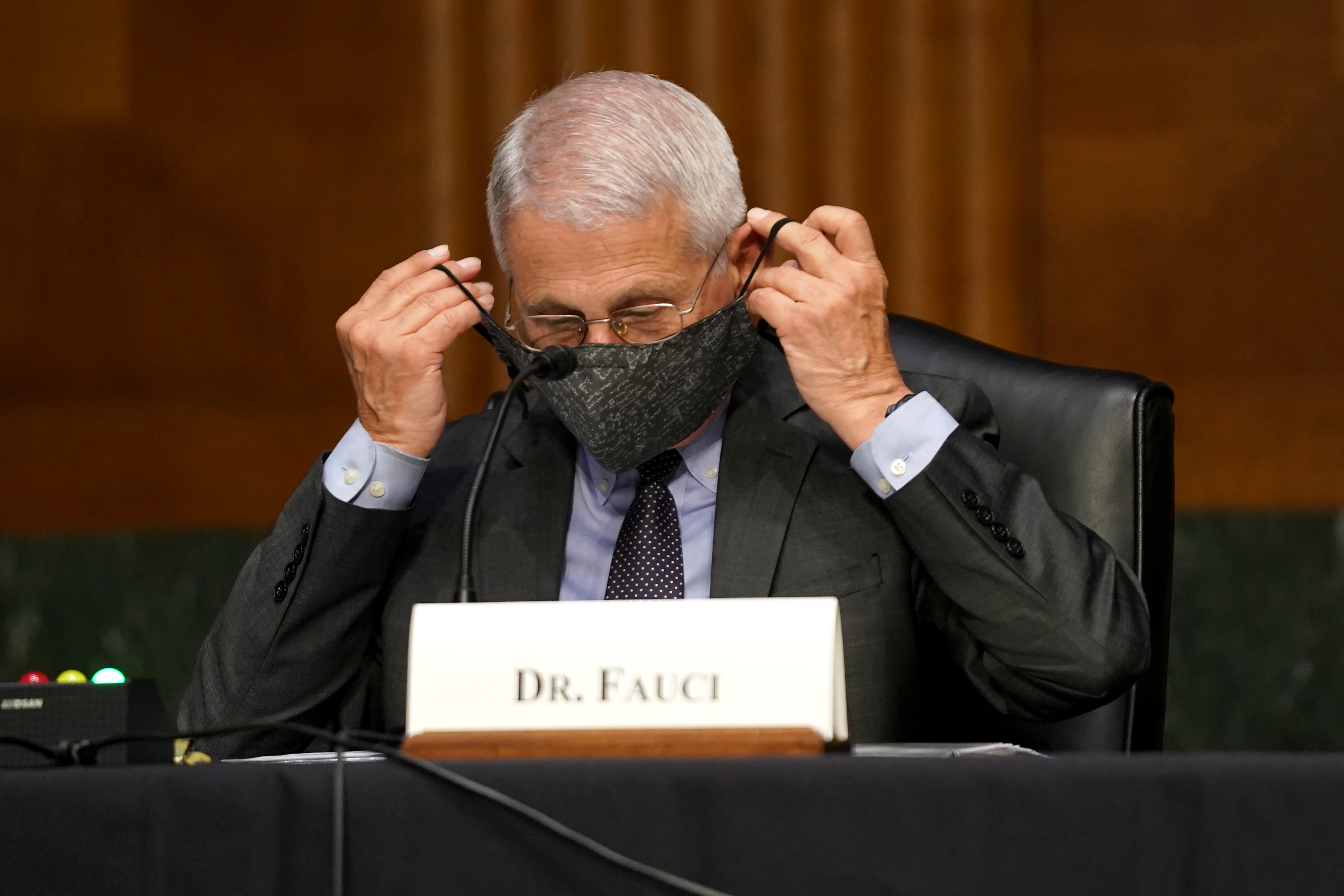 Fauci Admits to Masking After Vaccination Solely for Optics