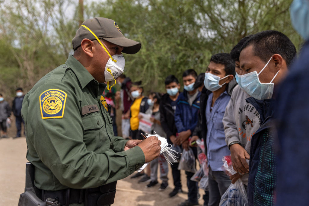 Illegals Crossing Rio Grande Valley Say They're Crossing Because of Biden