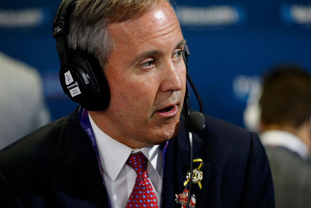 """Texas AG Ken Paxton: The """"Only Reason"""" Anyone Would Be Against Voter ID Is to Allow Cheating"""
