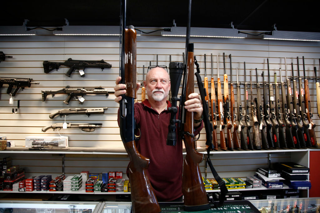 Man Armed With Hunting Rifle Stops Potential Mass Shooter
