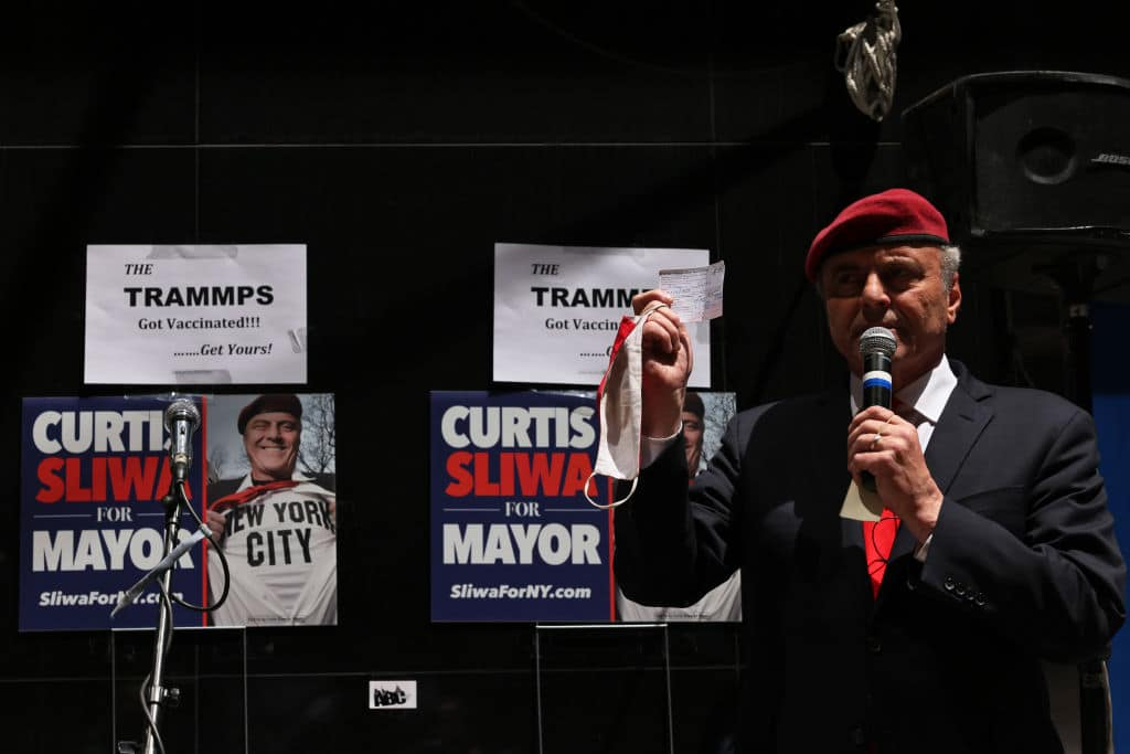 Curtis Sliwa Wins Republican Primary for NYC Mayor