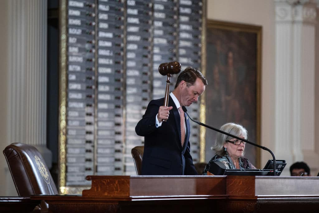 Texas Speaker Calls for Democrats Who Fled the State to Forfeit Their Pay