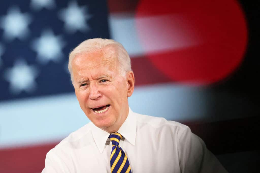 Biden Says He Ran for President for Three Reasons – Proceeds to List Two of Them