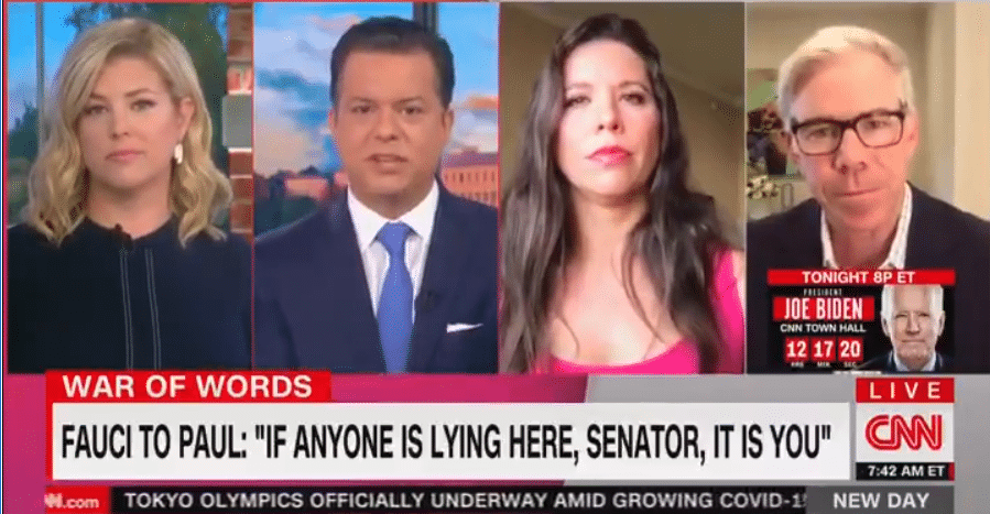 CNN Guest Demolishes Dr. Fauci – Leaves Host SPEACHLESS