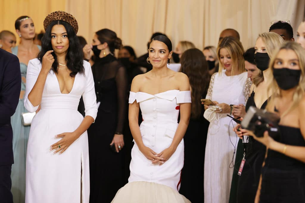 """AOC Says She's """"Working Class"""" at $30k-Per-Ticket Met Gala"""
