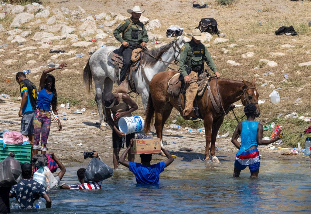 Biden Admin Suspends Border Patrol From Using Horses Because They Fell for a Fake News Story