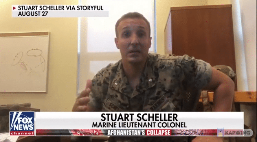 Marine Officer Who Went Viral for Afghanistan Rant Now Jailed
